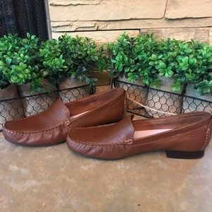Talbots brown loafers size 8 1/2N